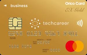 techcareer EX GOLD for Biz Card